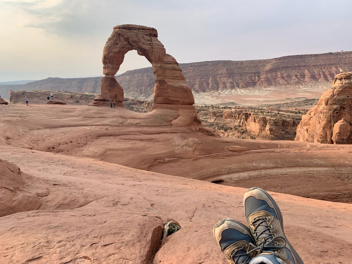 Delicate Arch Hike's End
